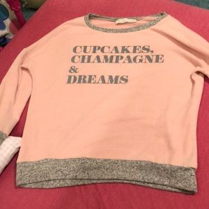 Vintage Havana pink sweatshirt